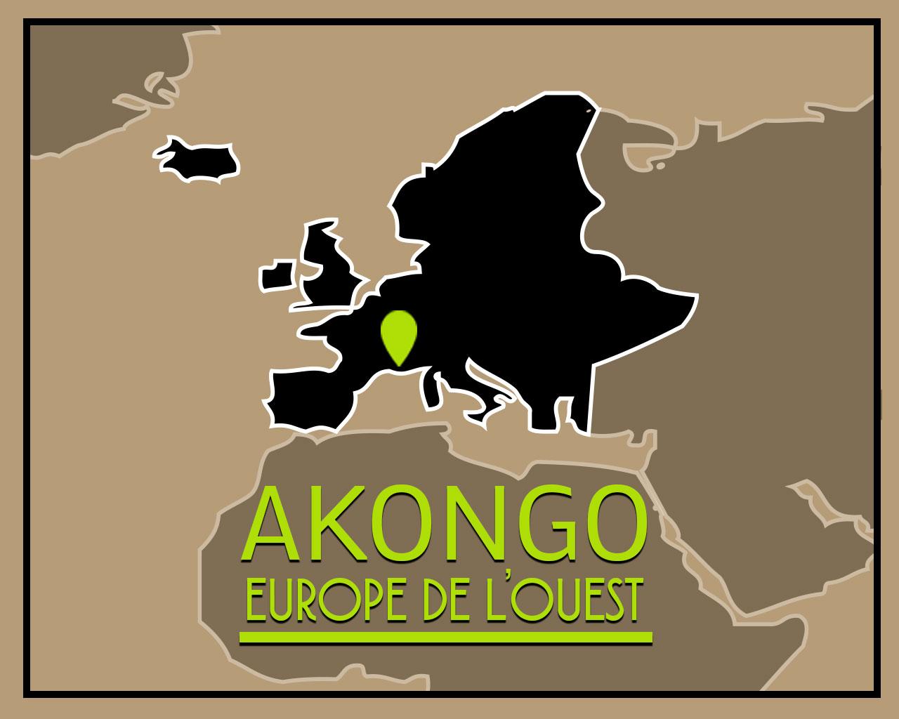 Akongo map